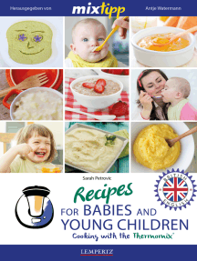 MIXtipp Recipes for Babies and Young Children (british english): Cooking with the Thermomix TM5 und TM31