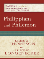 Philippians and Philemon (Paideia