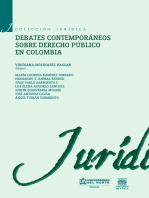 Debates contemporáneos de Derecho Público en Colombia