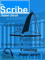 The Scribe June 2016