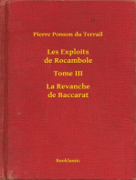 Les Exploits de Rocambole - Tome III - La Revanche de Baccarat