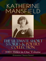 KATHERINE MANSFIELD – The Ultimate Short Stories & Poetry Collection