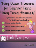 Fairy Queen Treasures for Beginner Piano Henry Purcell - Volume 1 A