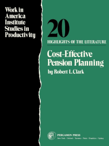 Cost-Effective Pension Planning: Work in America Institute Studies in Productivity: Highlights of The Literature