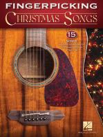 Fingerpicking Christmas Songs: 15 Songs Arranged for Solo Guitar in Standard Notation & Tab