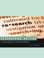 Researching Writing