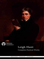 Delphi Complete Poetical Works of Leigh Hunt (Illustrated)