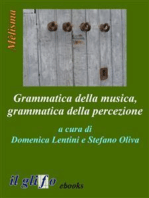 Grammatica della musica, grammatica della percezione