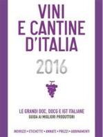 Vini e Cantine d'Italia 2016