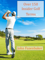 Over 150 Insider Golf Terms