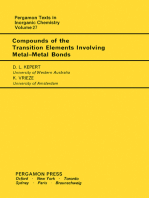 Compounds of the Transition Elements Involving Metal-Metal Bonds