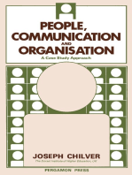 People, Communication and Organisation