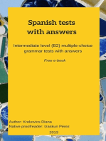 Spanish Tests With Answers