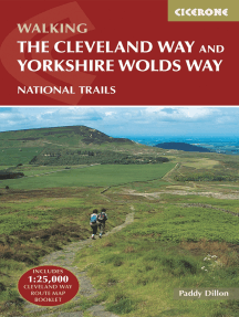 The Cleveland Way and the Yorkshire Wolds Way: Includes 1:25,000 Cleveland Way route map booklet