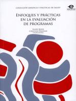 Enfoques y prácticas en la evaluación de programas