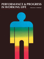 Performance and Progress in Working Life