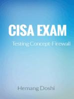 CISA EXAM-Testing Concept-Firewall