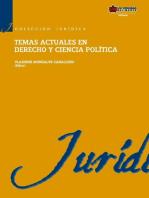 Temas actuales en derecho y ciencia política