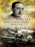 Stanley Spencer's Great War Diary 1915-1918