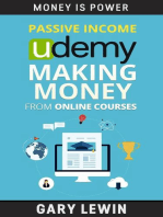 Passive Income : Udemy Making Money from Online Courses: MONEY IS POWER, #10