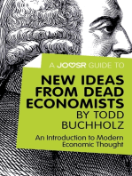 A Joosr Guide to... New Ideas from Dead Economists by Todd Buchholz