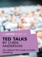 A Joosr Guide to... TED Talks by Chris Anderson