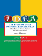 The Everyday Guide to Special Education Law: A Handbook for Parents, Teachers and Other Professionals, Third Edition