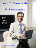 Learn To Speak Better In Sixty Minutes