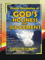 Divine Revelation of God's Holiness and Judgement
