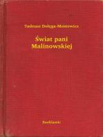 Świat pani Malinowskiej
