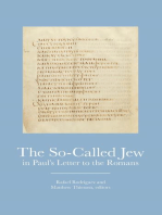 The So-Called Jew in Paul's Letter to Romans