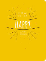 How to be Happy