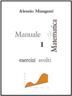 Manuale di Matematica 1 esercizi svolti