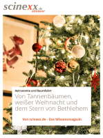 Von Tannenbäumen, weißer Weihnacht und dem Stern von Bethlehem