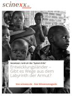 Entwicklungsländer: Gibt es Wege aus dem Labyrinth der Armut?