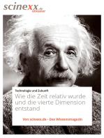 Albert Einstein: Wie die Zeit relativ wurde und die vierte Dimension entstand