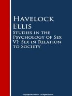 Studies in the Psychology of Sex VI