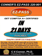 Comptia A+ in 21 Days: The 220-901 Studyguide