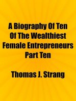 A Biography Of Ten Of The Wealthiest Female Entrepreneurs Part Ten