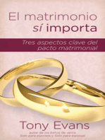 El matrimonio sí importa: Tres aspectos claves del pacto matrimonial