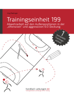 """Abwehrarbeit auf den Außenpositionen in der """"offensiven"""" und aggressiven 6:0 Deckung (TE 199)"""