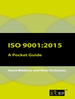 ISO 9001:2015: A Pocket Guide