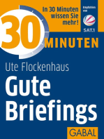 30 Minuten Gute Briefings