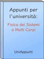 Appunti per l'università