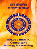 Don't Be Negative-Be Positive Be Strong