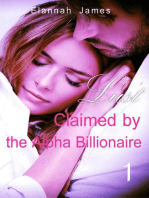 Claimed by the Alpha Billionaire 1