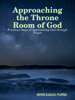 Approaching the Throne Room of God