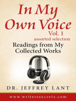 In My Own Voice. Reading from My Collected Works