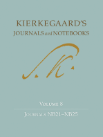 Kierkegaard's Journals and Notebooks, Volume 8
