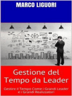 Gestione del Tempo da LEADER